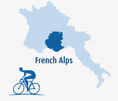 Alps On World Map by French Alps Bike Tours