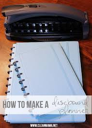 How To M by How To Make A Discbound Planner Clean Mama