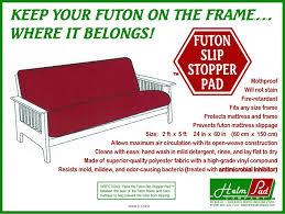 High Quality Futon Mattress by Amazon Com Non Slip Futon Grip Pad Slip Stopper Pad By Helm