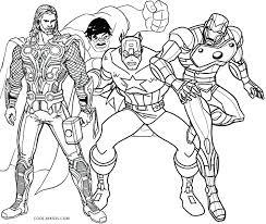 superhero coloring pages crayola avengers printable u2013 vonsurroquen