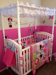 Mickey And Minnie Crib Bedding Minnie Mouse Erfly Dreams Crib Bedding Style By Modernstork