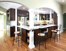 kitchen island posts kitchen island wood posts wooden open floor l shaped columns for