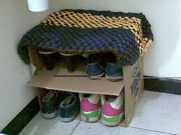 diy shoe storage bench design