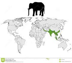 asian elephant range royalty free stock photos image 21025548