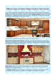 Kinds Of Kitchen Cabinets Different Types Of Cabinet Plain Different Kinds Of Kitchen