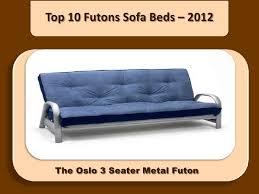 Metal Futon Sofa Bed Top 10 Futons Sofa Beds 2012