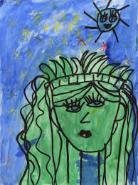a first grader u0027s picasso like painting is now hanging at the met