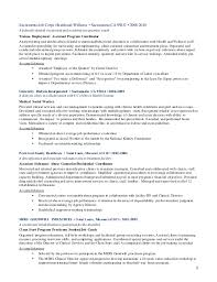 Resume For Substance Abuse Counselor Updated Resume 3 1 17