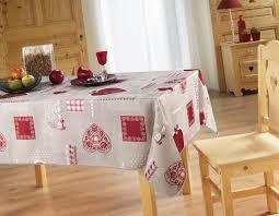 housse de couette montagne chalet nappe service table nappage antitache rectangle 150x240 cm déco