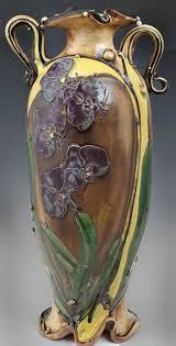Caterpillar Vase The Spirals Swirls Scrolls And Waves Of Carol Long U0027s Pottery