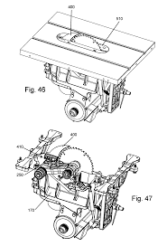 patent us7827893 elevation mechanism for table saws google patents