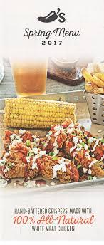 chili s grill bar menu 6730 s 27th st lincoln ne 68512