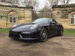 porsche turbo wheels black used 2016 porsche 911 turbo 991 turbo s pdk for sale in west
