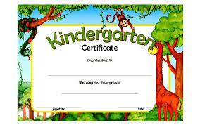 kindergarten certificates kindergarten diploma certificate template 9 the best template