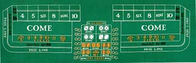 Craps Table How To Play Craps For The Beginner Gamble The Globe