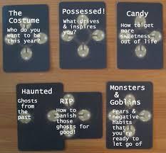 halloween tarot card spread daily tarot