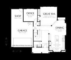 Traditional Floor Plan Mascord House Plan 22154a The Montgomery