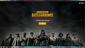 pubg connection closed server lag report thread performance connection issues