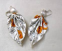 handmade paper earrings paper earrings handmade paper jewellery leaf collection flickr