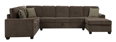 10 seat sectional sofa provence casual brown fabric stationary sectional sofa with under