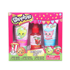 bath gift set shopkins bath gift set hollar so much stuff