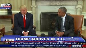 must watch donald trump meets with president obama at white house