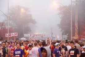 atlanta half marathon start waves