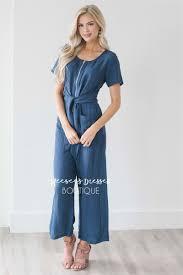 zipper jumpsuit zipper tie front jumpsuit modest dress for nursing