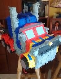 optimus prime pinata piñatas transformers optimus prime 600 00 en mercado libre
