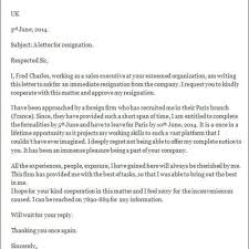 Writing A Letter Of Resignation Template Proper Letters Of Resignation Templates Letter Format Writing