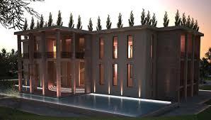 top international architecture design private villa kazakhstan