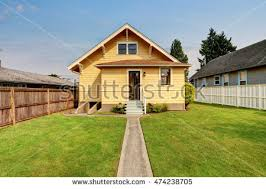 Backyard View Craftsman House Stock Images Royalty Free Images U0026 Vectors