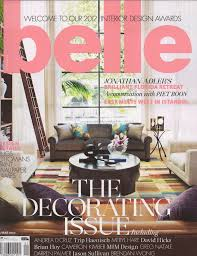Home Decor Magazines Mysuites U0026co In Belle Magazine February March 2012