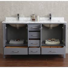 60 Inch White Vanity Home Decor 60 Inch Double Sink Bathroom Vanity Industrial