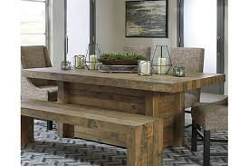 Sommerford Dining Room Table Ashley Furniture HomeStore - Ashley furniture dining table warranty