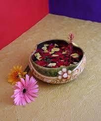 ekolhapuri handmade urli bowl ajanta flower terracotta idols and