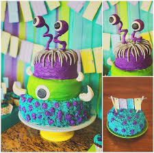 monsters inc cake pixar cakes pinterest monsters cake and