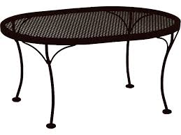 beautiful oval wrought iron patio table 39 on cheap patio flooring