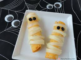 Mexican Themed Dinner Party Menu Mummy Halloween Appetizers Fun Halloween Kids Party Food Ideas