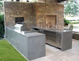 Concrete Kitchen Countertops Concrete Kitchen Countertops Patio Contemporary With Kitchen