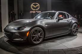 mazda roadster the 2017 mazda mx 5 rf has been revealed at the eve of the 2016