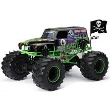 new monster truck new bright rc monster jam 1 8 scale 4 4 radio control truck grave