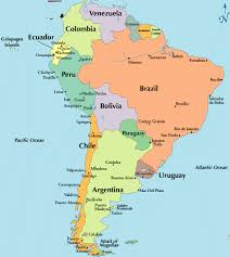 map of cities in south america south america travel central south america south