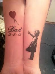 cute love you dad tattoo design on wrist on dad u0027s birthday