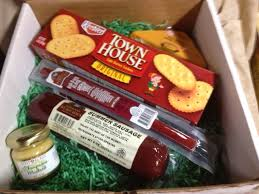 sausage gift baskets give the wurst gift anyone would hermann wurst haus