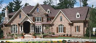 european style house garrell associates inc lansdowne place house plan 01068 front
