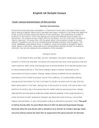 literary analysis sample essay 100 original papers essay dog kids youtube