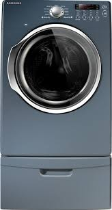 Samsung Blue Washer And Dryer Pedestal Samsung Dv330aeb 27 Inch Electric Dryer With 7 3 Cu Ft Capacity