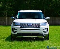 Ford Explorer Old - 2016 ford explorer platinum awd review u0026 test drive