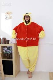 Halloween Onesie Costumes Kigurumi Pajamas Anime Winnie Pooh Cosplay Costume Unisex